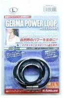 M-Kaep Германиевое ожерелье, размер L - 55 см, цвет - чёрный.
