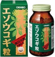 ORIHIRO Элеутерококк, 400 таблеток.