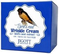 JIGOTT «Bird's Nest Wrinkle Cream» Антивозрастной крем с экстрактом ласточкиного гнезда, 70 мл.