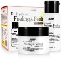 B&SOAP «Feeling & Peeling» Набор для домашнего пилинга (скраб и лосьон-активатор), 60 мл + 60 г.
