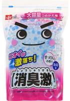 LEC Универсальный гелевый нейтрализатор посторонних запахов, с ароматом цветочного мыла, многоразовая сменная упаковка, 840 гр.