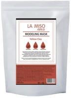 LA MISO Маска моделирующая (альгинатная) с желтой глиной, 1 кг.