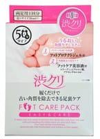 "Shibucli ""Foot Care Set"" Набор по уходу за ногами (защитный гель, 1х5 г + маска-пилинг, 2х25 мл + увлажняющая эссенция, 2х5 г)."