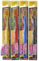 """Create """"Dentfine Tapered"""" Зубная щётка с широкой чистящей головкой и супертонкими щетинками, мягкая, 1 шт."""