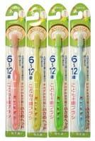 """Create """"Dentfine Tapered"""" Зубная щётка с компактной чистящей головкой и тонкими кончиками щетинок, жёсткая, для детей 6-12 лет, 1 шт."""