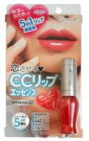 B&C Laboratories «Lovetulle Pure Liquid Rouge» Блеск для губ 5 в 1 (уход, объём, блеск, защита, основа), прозрачно-красный.