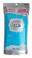 Ohe Corporation «Pokoawa Body Towel» Мочалка для тела средней жёсткости, голубая.