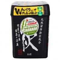 NAGARA Поглотитель запаха гелевый, с бамбуковым углем и зелёным чаем, 320 гр.