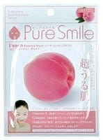 SUN SMILE «Pure Smile Essence mask» Обновляющая маска для лица с эссенцией персика, 1 шт.