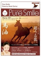 SUN SMILE «Pure Smile Essence mask» Питательная маска для лица с эссенцией лошадиного жира, 1 шт.