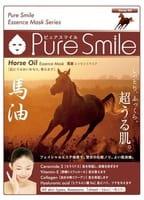 """Sun Smile """"Pure Smile Essence mask"""" Питательная маска для лица с эссенцией лошадиного жира, 1 шт."""