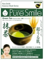 """Sun Smile """"Pure Smile Essence mask"""" Увлажняющая маска для лица с эссенцией японского зелёного чая, 1 шт."""