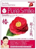 "Sun Smile ""Pure Smile Essence mask"" Увлажняющая маска для лица с эссенцией цветов камелии, 1 шт."