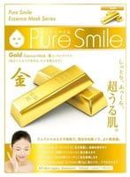 SUN SMILE «Pure Smile Essence mask» Подтягивающая маска для лица с эссенцией золота, 1 шт.