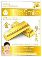 """Sun Smile """"Pure Smile Essence mask"""" Подтягивающая маска для лица с эссенцией золота, 1 шт."""